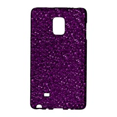 Sparkling Glitter Plum Galaxy Note Edge by ImpressiveMoments