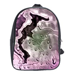Wet Metal Pink School Bags (xl)  by ImpressiveMoments
