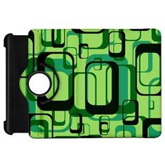Retro Pattern 1971 Green Kindle Fire Hd Flip 360 Case by ImpressiveMoments