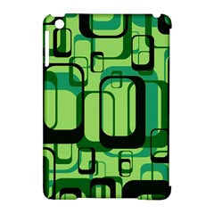 Retro Pattern 1971 Green Apple Ipad Mini Hardshell Case (compatible With Smart Cover) by ImpressiveMoments
