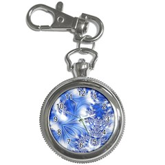 Special Fractal 17 Blue Key Chain Watches by ImpressiveMoments