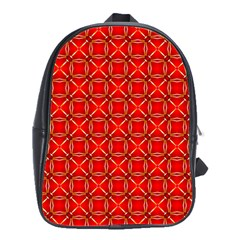 Cute Seamless Tile Pattern Gifts School Bags(large)  by creativemom