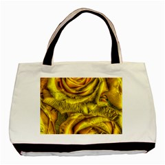 Gorgeous Roses, Yellow  Basic Tote Bag (two Sides)