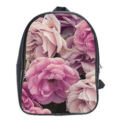 Great Garden Roses Pink School Bags (xl)  by MoreColorsinLife