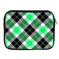 Smart Plaid Green Apple Ipad 2/3/4 Zipper Cases by ImpressiveMoments