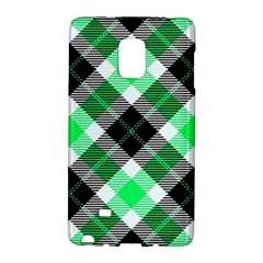 Smart Plaid Green Galaxy Note Edge by ImpressiveMoments