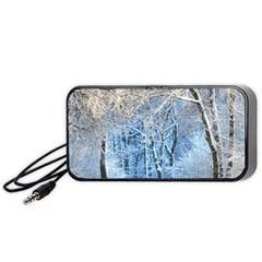Another Winter Wonderland 1 Portable Speaker (black)