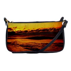Stunning Sunset On The Beach 2 Shoulder Clutch Bags by MoreColorsinLife