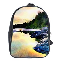 Stunning Nature Evening School Bags (xl)  by MoreColorsinLife