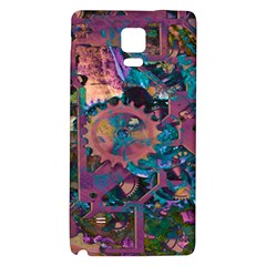 Steampunk Abstract Galaxy Note 4 Back Case by MoreColorsinLife