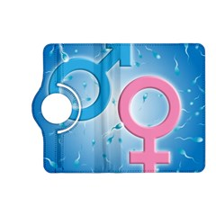 Sperm And Gender Symbols  Kindle Fire Hd (2013) Flip 360 Case by ScienceGeek
