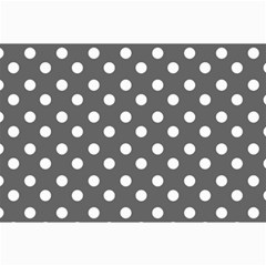 Gray Polka Dots Collage 12  x 18  by creativemom