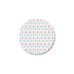 Spatula Spoon Pattern Golf Ball Marker (10 pack)