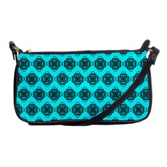 Abstract Knot Geometric Tile Pattern Shoulder Clutch Bags by creativemom