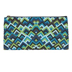 Trendy Chic Modern Chevron Pattern Pencil Cases by creativemom
