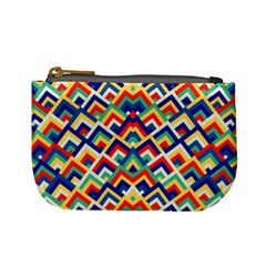 Trendy Chic Modern Chevron Pattern Mini Coin Purses by creativemom
