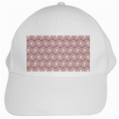 Gerbera Daisy Vector Tile Pattern White Cap by creativemom