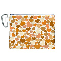 Heart 2014 0903 Canvas Cosmetic Bag (xl)  by JAMFoto