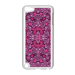 Crazy Beautiful Abstract  Apple Ipod Touch 5 Case (white)
