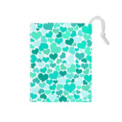 Heart 2014 0917 Drawstring Pouches (medium)  by JAMFoto