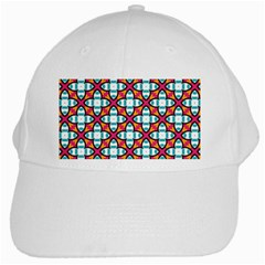 Cute Pattern Gifts White Cap by creativemom