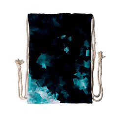 Space Like No 5 Drawstring Bag (small) by timelessartoncanvas