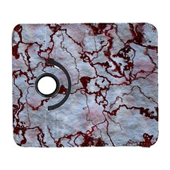Marbled Lava Red Samsung Galaxy S  Iii Flip 360 Case by MoreColorsinLife