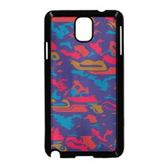 Chaos In Retro Colors Samsung Galaxy Note 3 Neo Hardshell Case by LalyLauraFLM