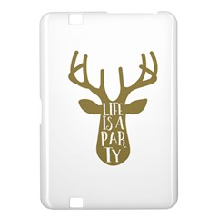 Life Is A Party Buck Deer Kindle Fire Hd 8 9  by CraftyLittleNodes