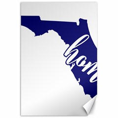 Florida Home  Canvas 24  X 36  by CraftyLittleNodes