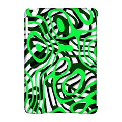Ribbon Chaos Green Apple Ipad Mini Hardshell Case (compatible With Smart Cover) by ImpressiveMoments