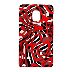 Ribbon Chaos Red Galaxy Note Edge by ImpressiveMoments