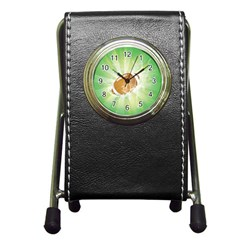American Football  Pen Holder Desk Clocks by FantasyWorld7