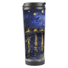 Vincent Van Gogh Starry Night Over The Rhone Travel Tumblers by MasterpiecesOfArt