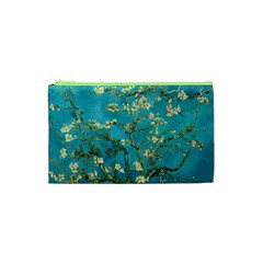 Blossoming Almond Tree Cosmetic Bag (xs) by MasterpiecesOfArt
