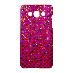 Polka Dot Sparkley Jewels 1 Samsung Galaxy A5 Hardshell Case
