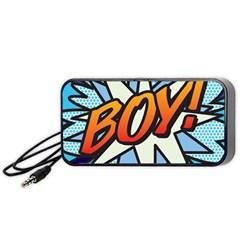Comic Book Boy!  Portable Speaker (black)