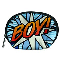 Comic Book Boy!  Accessory Pouches (medium)  by ComicBookPOP