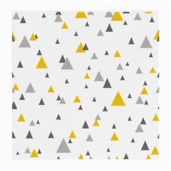 Pastel Random Triangles Modern Pattern Medium Glasses Cloth