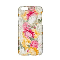 Colorful Floral Collage Apple Iphone 6/6s Hardshell Case
