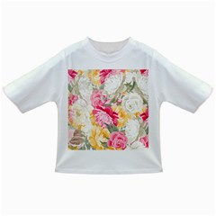 Colorful Floral Collage Infant/toddler T Shirts