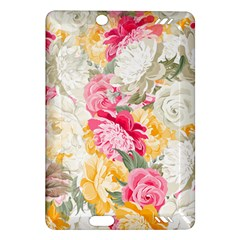Colorful Floral Collage Kindle Fire Hd (2013) Hardshell Case