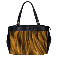 Shiny Silk Golden Office Handbags (2 Sides)  by MoreColorsinLife