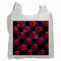 Strawberries And Plums  Recycle Bag (one Side) by julienicholls