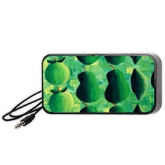 Apples Pears And Limes  Portable Speaker (black)