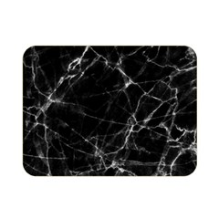 Black Marble Stone Pattern Double Sided Flano Blanket (mini)