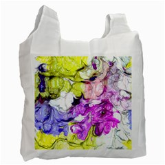 Strange Abstract 2 Soft Recycle Bag (one Side) by MoreColorsinLife