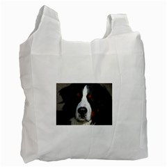 Bernese Mountain Dog Recycle Bag (one Side) by TailWags