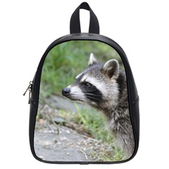 Racoon 1115 School Bags (small)  by MoreColorsinLife