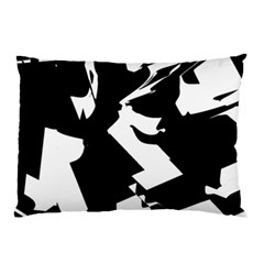 Bw Glitch 2 Pillow Cases (two Sides)